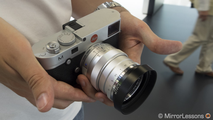 Photokina 2014: First impressions of the Zeiss Distagon T