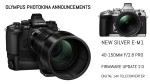 Olympus announces the 40-150mm f/2.8 PRO Zoom, Silver E-M1, and Firmware Update 2.0