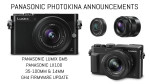 Panasonic announces the GM5, LX100, 35-100mm and 14mm & GH4 firmware update