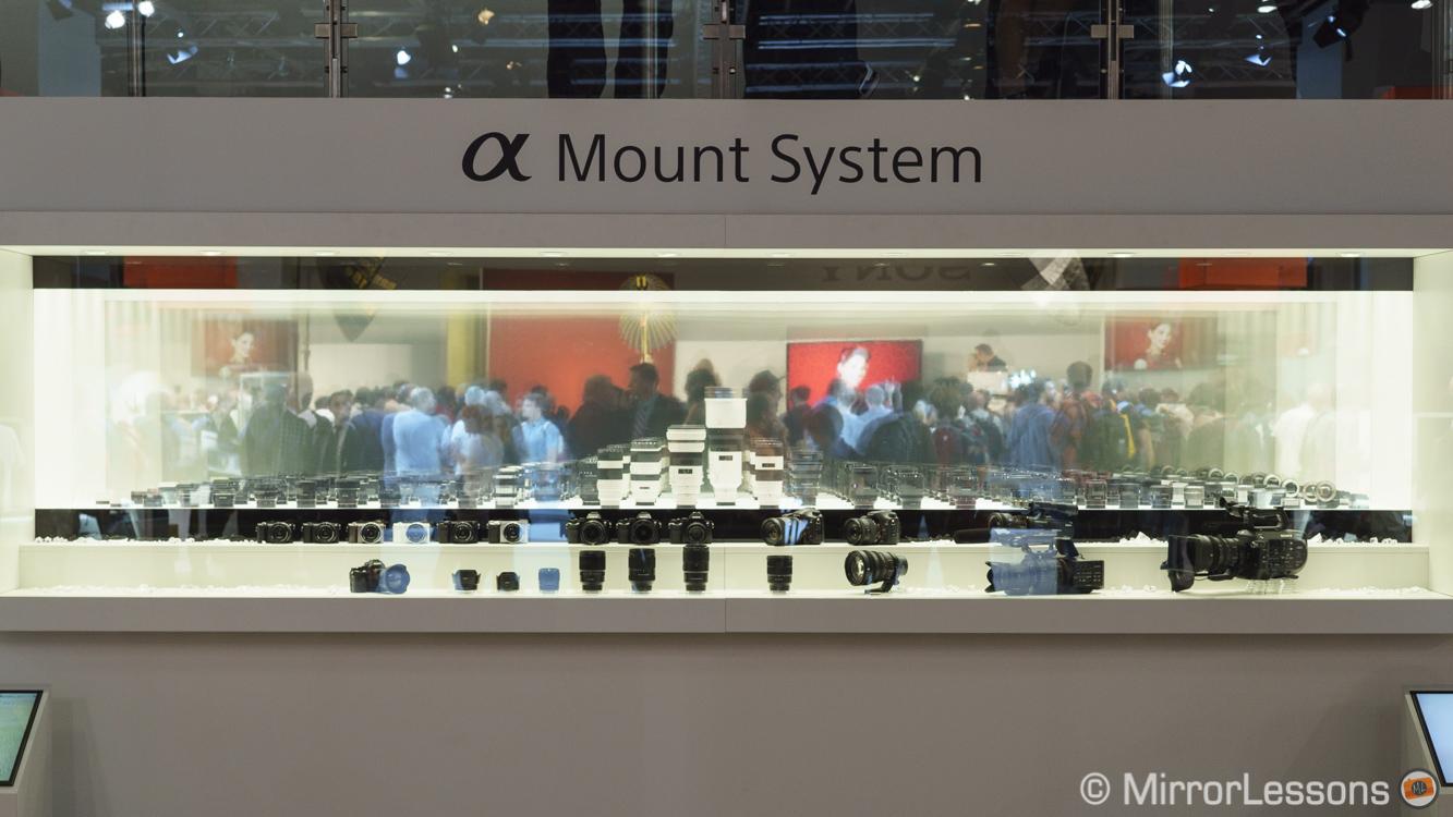 new sony e mount lenses 2015
