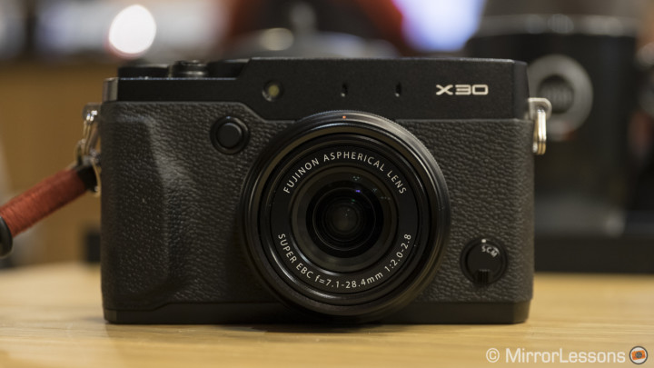 fujifilm x30 review