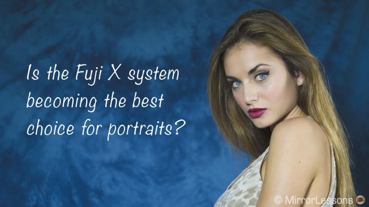 fujifilm best portrait lenses