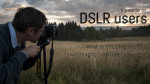 So, DSLR users: what's stopping you from switching over to a mirrorless system?