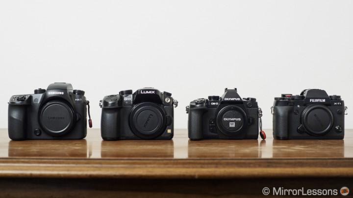 best mirrorless cameras professional