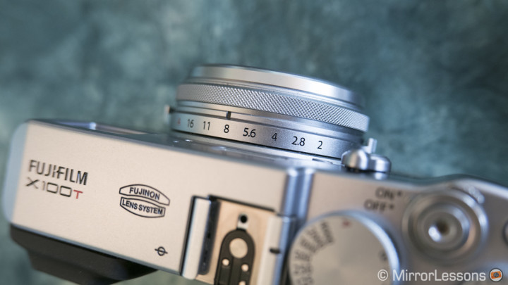 fujifilm x100t review lens