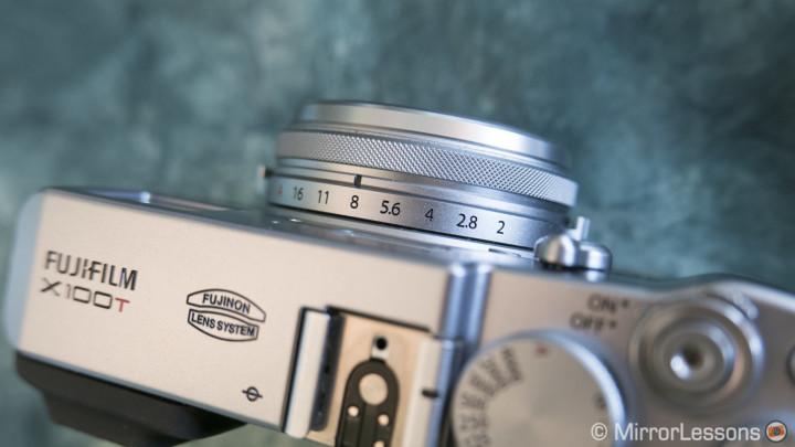 fujifilm x100t review lens