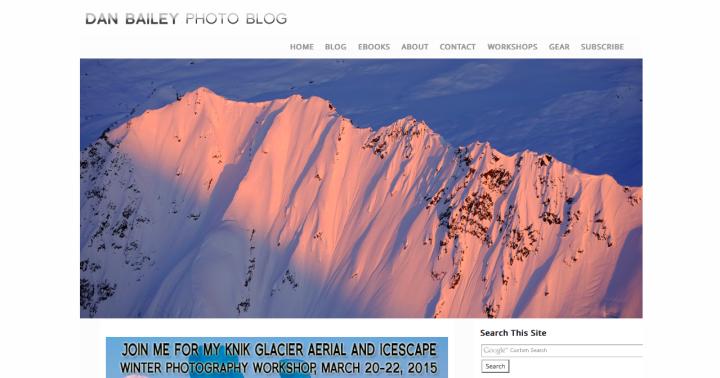 dan bailey photo blog