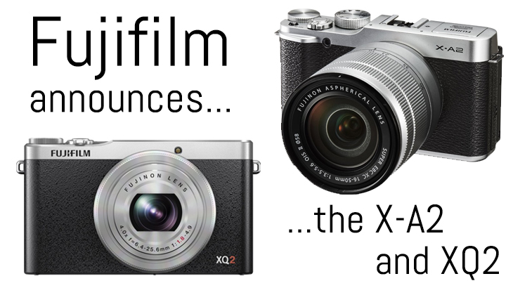 fujifilm x-a2 x-q2