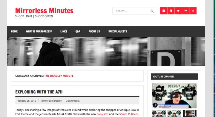 mirrorless minutes