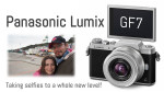Panasonic announces the Lumix GF7, taking selfies to a whole new level