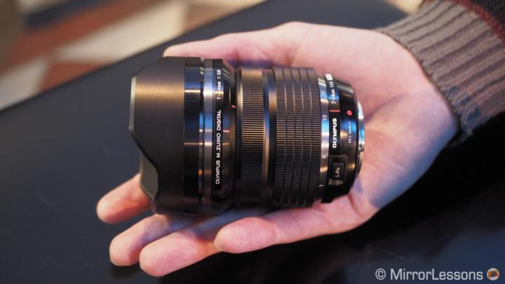 M.Zuiko 7-14mm f/2.8 Pro