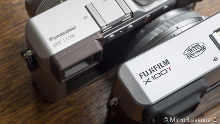 fujifilm x100t vs panasonic lx100