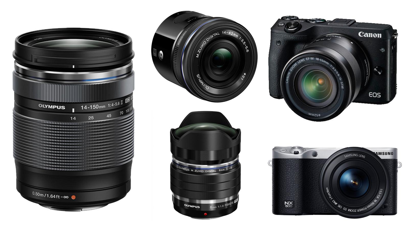 olympus-air-a01-canon-eos-m3-samsung-nx500-mzuiko-8mm-fisheye