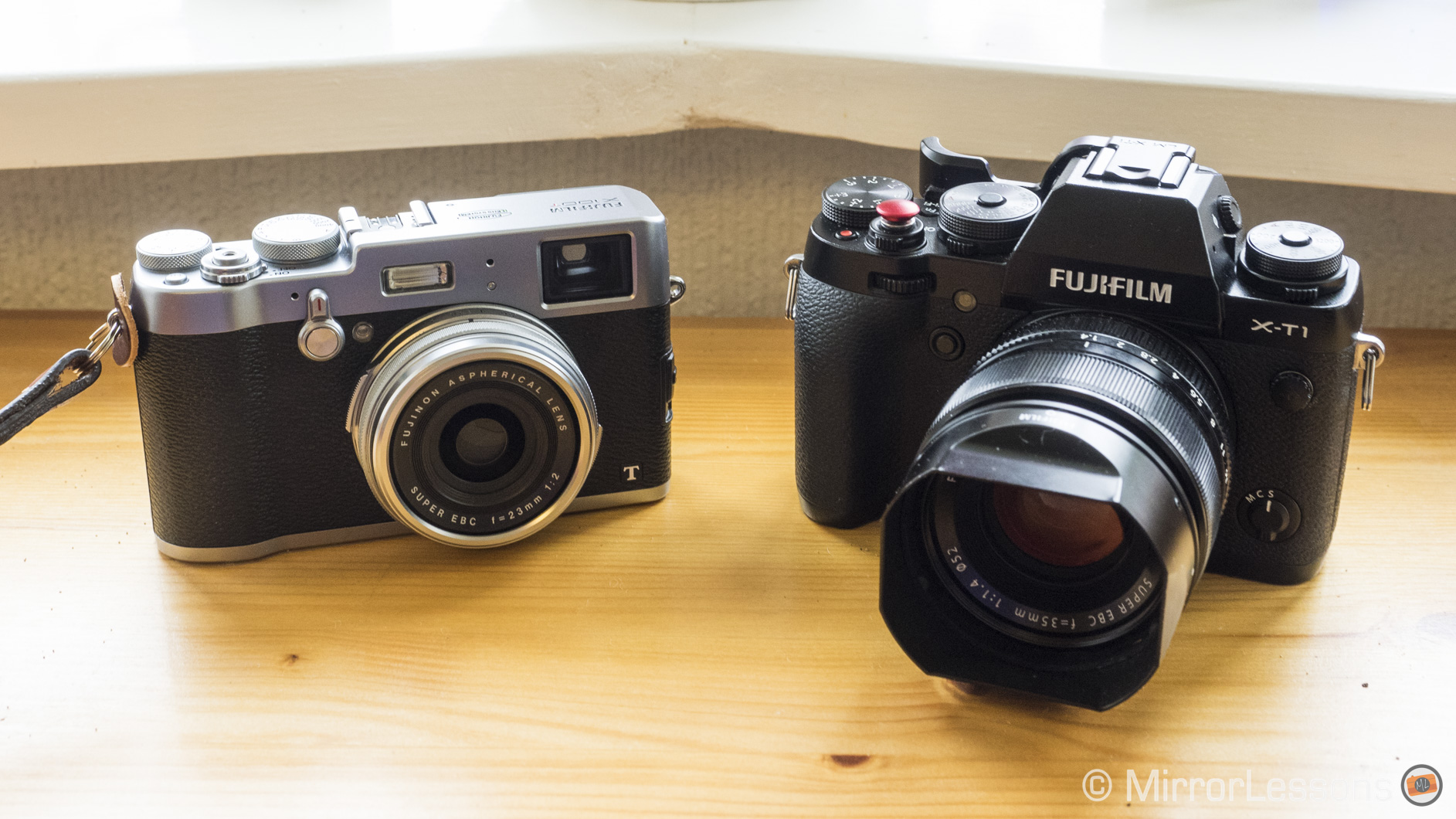 Fujifilm X100T vs  Fujifilm X-T1 – Which is the right T for you?
