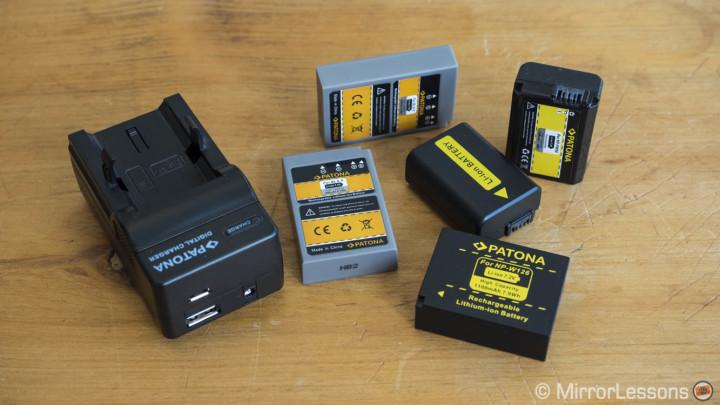 mirrorless camera battery life