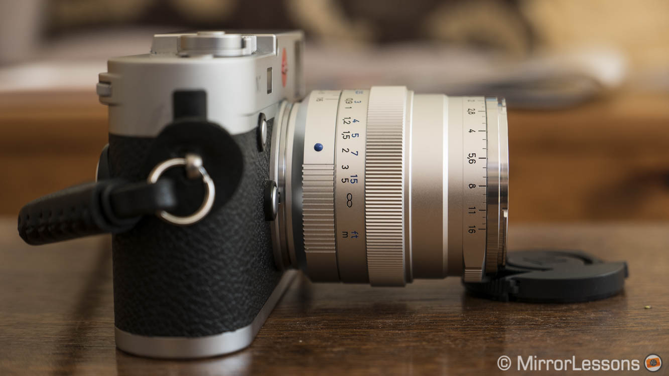 The classic Zeiss look for Leica – The Zeiss Distagon T* 35mm f/1 4