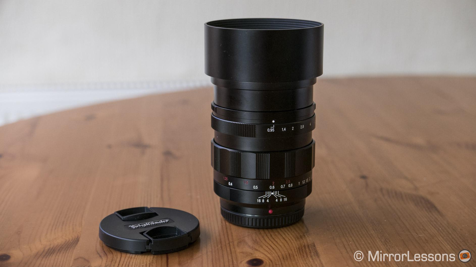 voigtlander 42.5mm f/0.95 review