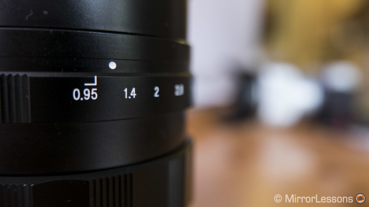 voigtlander 42.5mm f0.95 review