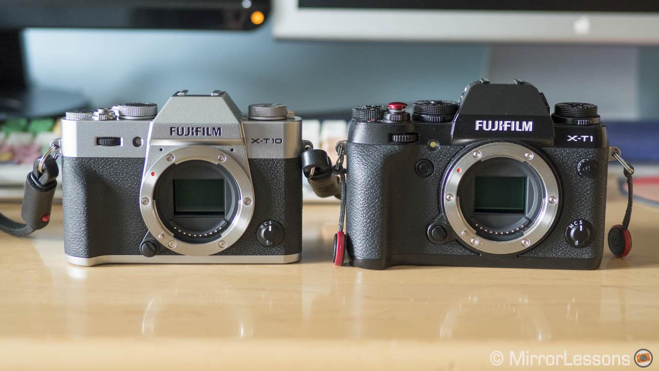 fujifilm x-t2 vs x-t1