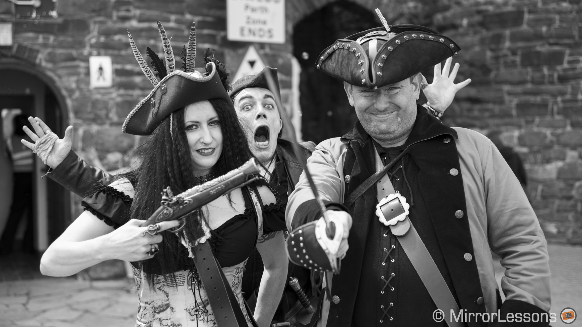 The Pirate Weekend in Conwy – A Leica M Monochrom (Typ 246