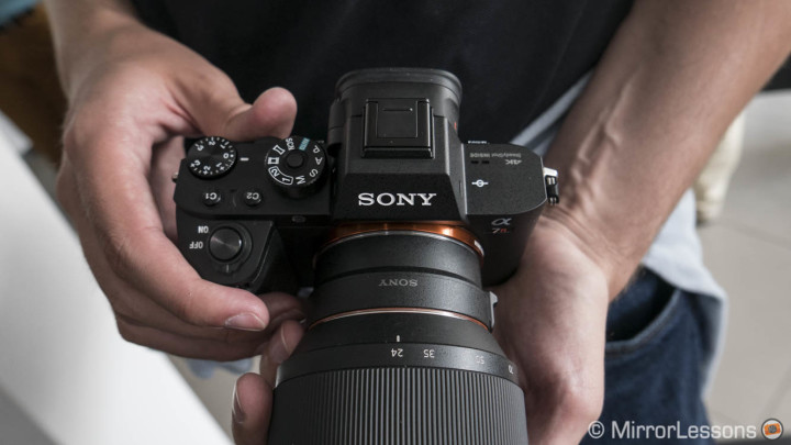 sony a7r mark ii le-ea3 adapter