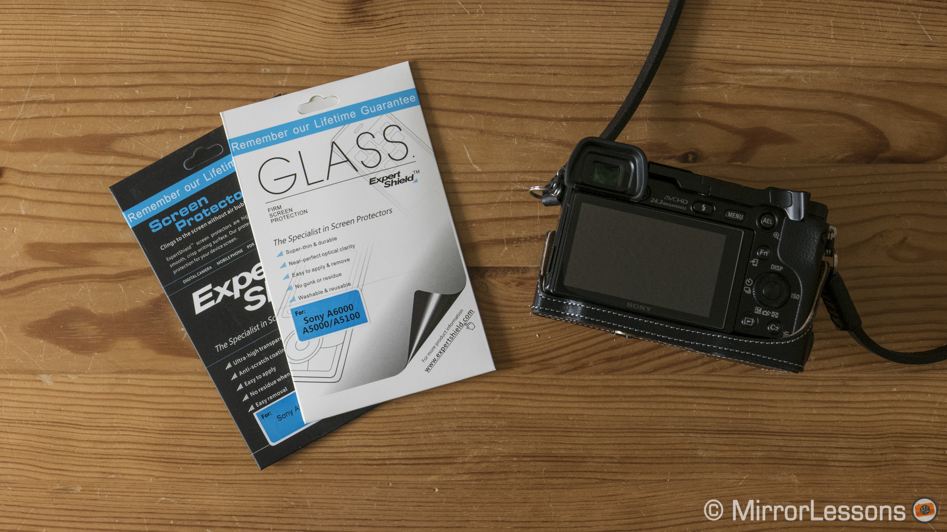 sony a6000 screen protector