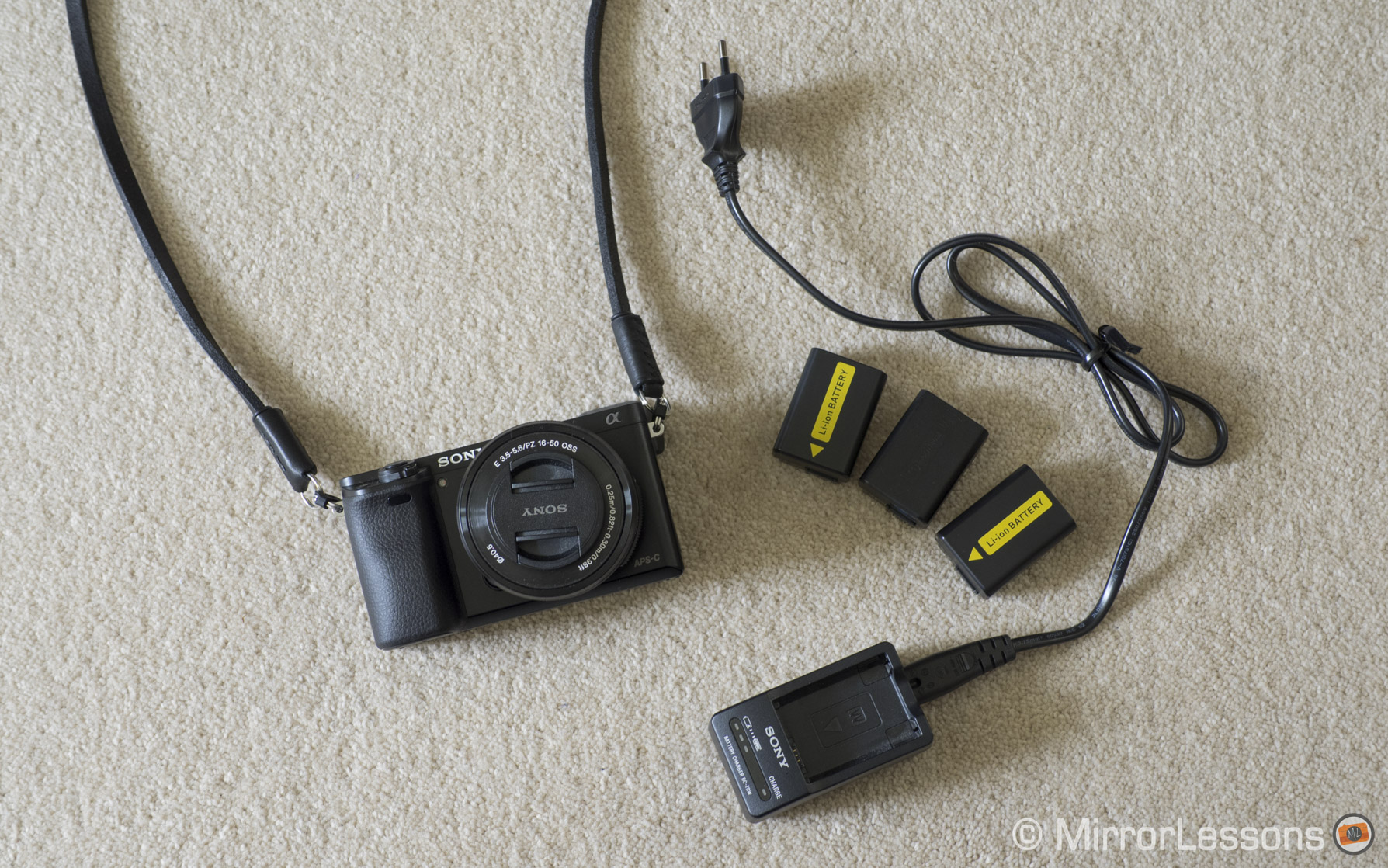 sony a6000 battery charger