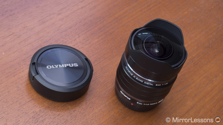 olympus 8mm fisheye review