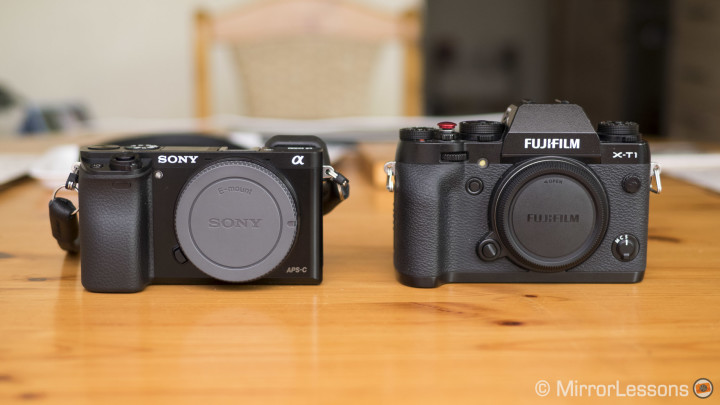 Opponents in the APS-C Realm – Sony A6000 vs. Fujifilm X-T1