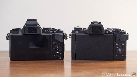 E-M5 vs E-M5 mark II
