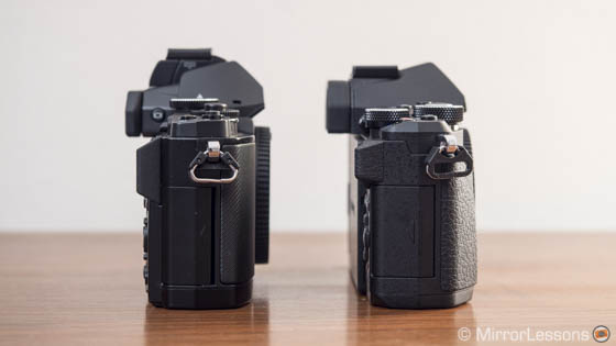 E-M5 vs E-M5 mark II