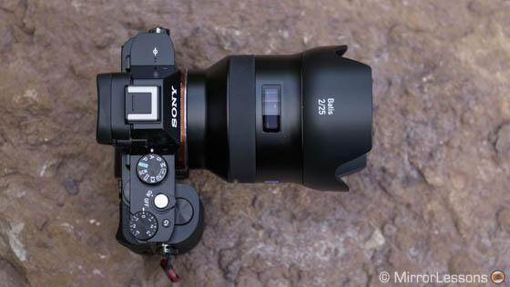 loxia 21mm vs batis 25mm
