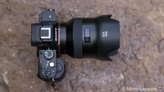 loxia 21mm vs batis 25mm