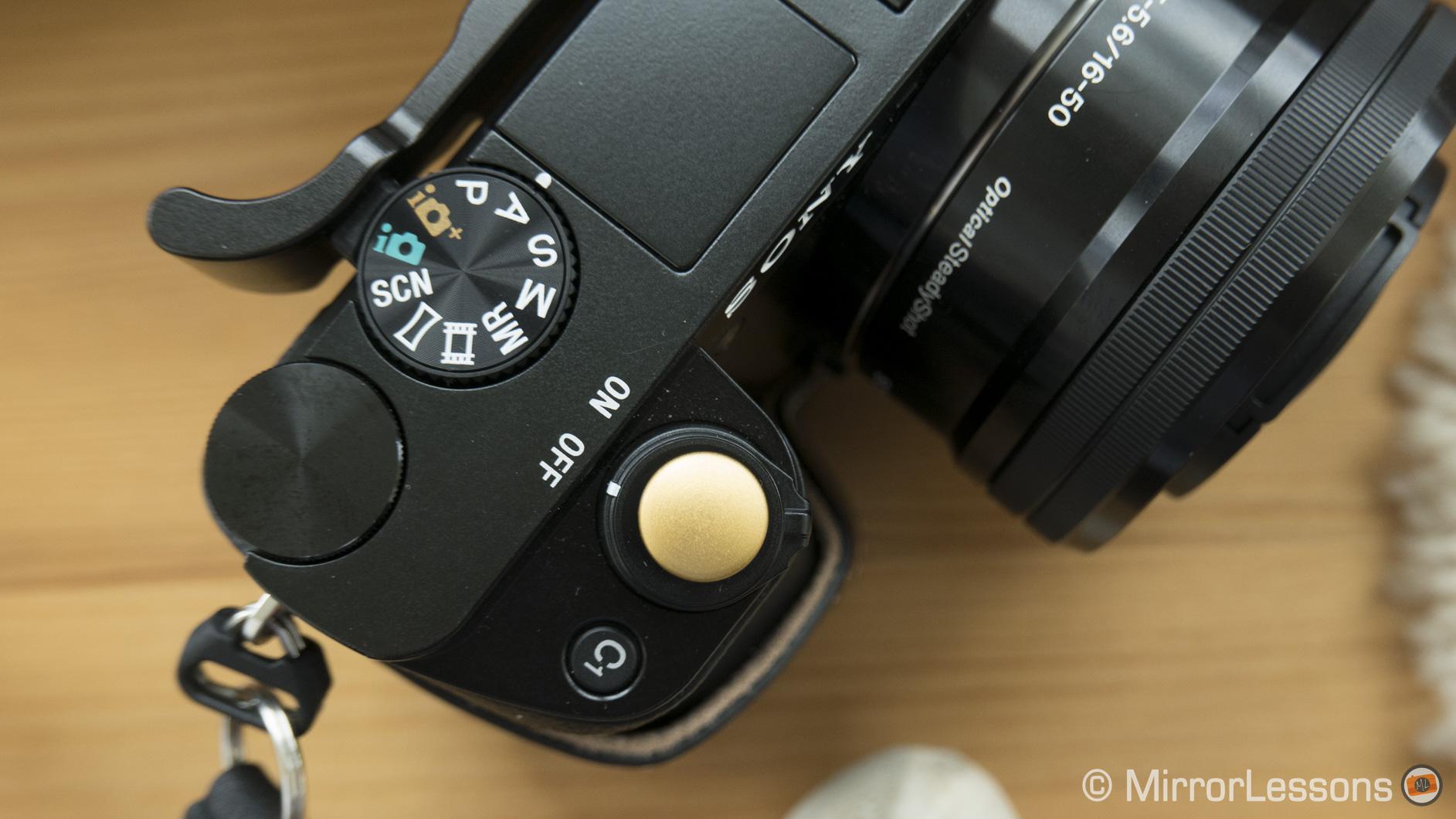a6000 soft button