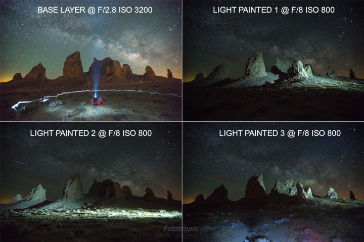 how to photograph milky way
