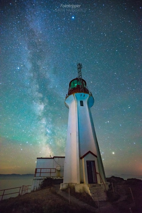 how to take milky way photos