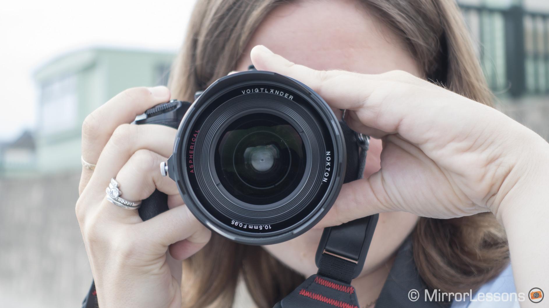 voigtlander 10.5mm f/0.95 review
