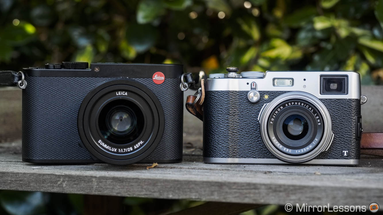 Comparing Apples with Oranges: Leica Q vs  Fuji X100T