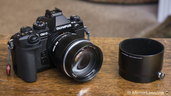 olympus m zuiko 75mm review