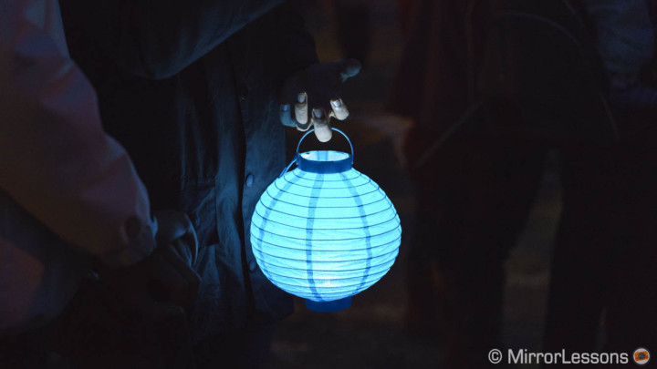 The Lantern Parade in Aberdyfi – Sony A7rII Image Samples in Low Light