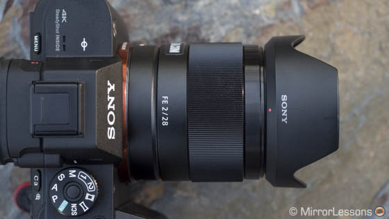 sony 28mm f/2 review