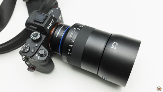 zeiss milvus 85mm 1.4