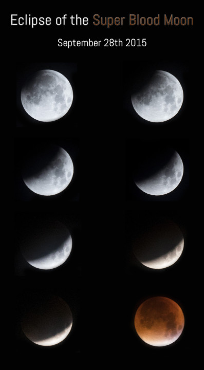 The Super Blood Moon - Lunar Eclipse