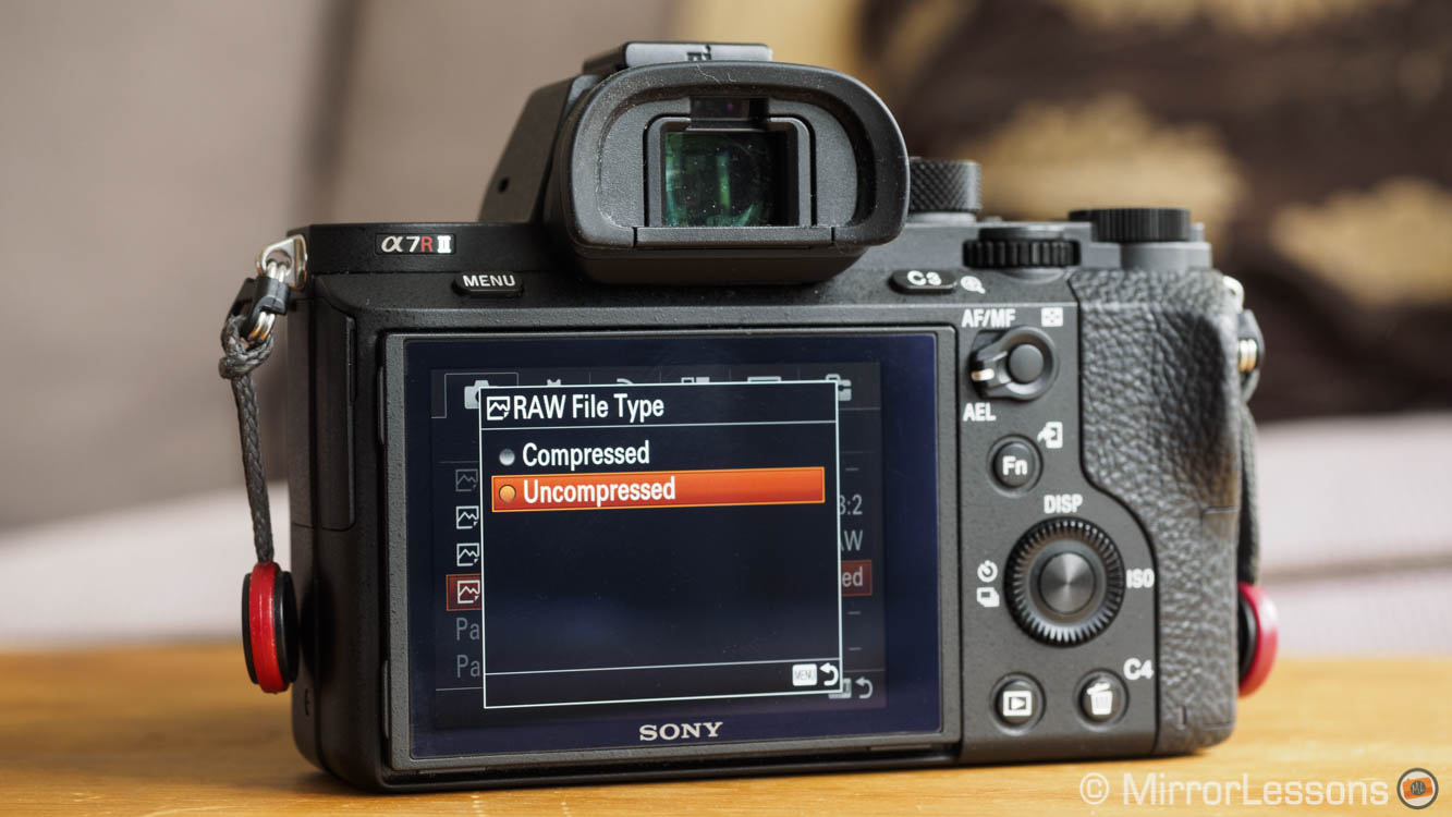 Sony A7r II: compressed vs. uncompressed Raw and a ...