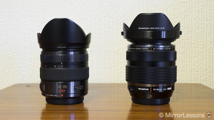 panasonic 12-35 vs olympus 12-40