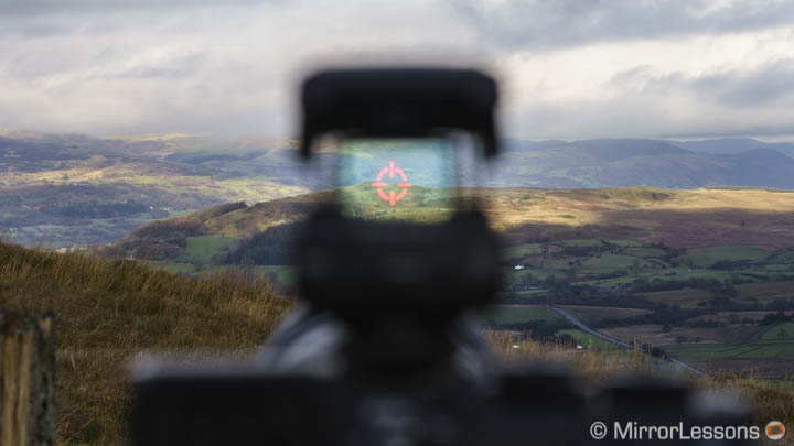 olympus ee1 dot sight review