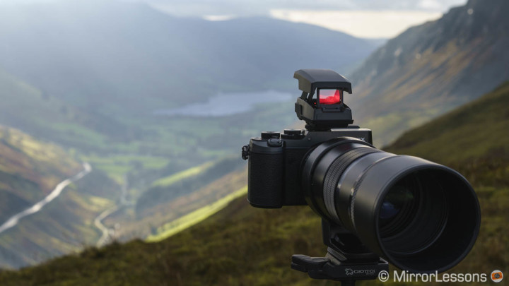 Wildlife photographers could fall in love with this – The Olympus EE-1 Dot Sight review