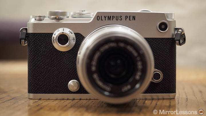 olympus pen f review