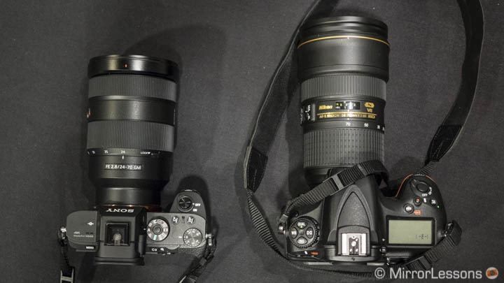 sony 24-70mm 2.8 gm vs nikon 24-70mm 2.8
