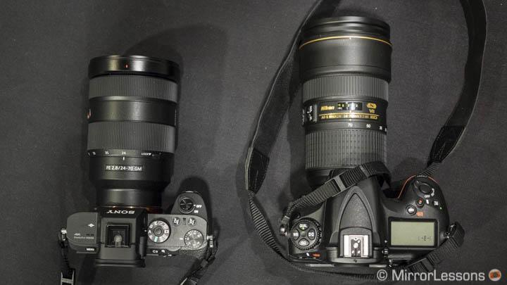 sony 24-70mm 2.8 gm vs nikon 24-70mm 2.8